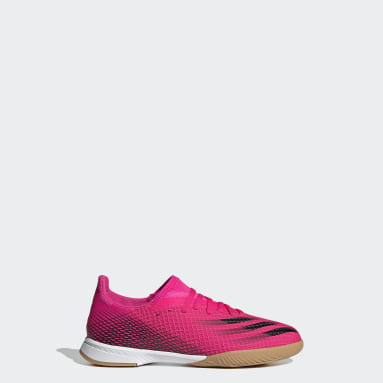 Kids Futsal Pink X Ghosted.3 Indoor Boots