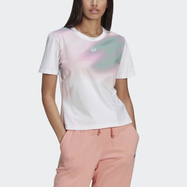 T-shirt Blanc Femmes Originals