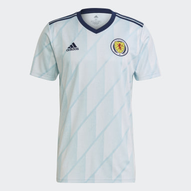 Men Football Blue Scotland Away Jersey