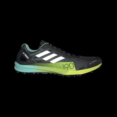 Men TERREX Black Terrex Speed Pro Trail Running Shoes