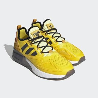 Erkek Originals Sarı Ninja ZX 2K Boost Ayakkabı