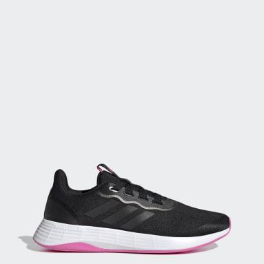 Women's Lifestyle Black QT Racer Sport Shoes