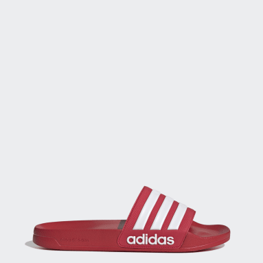 Swimming Red Adilette Cloudfoam Slides