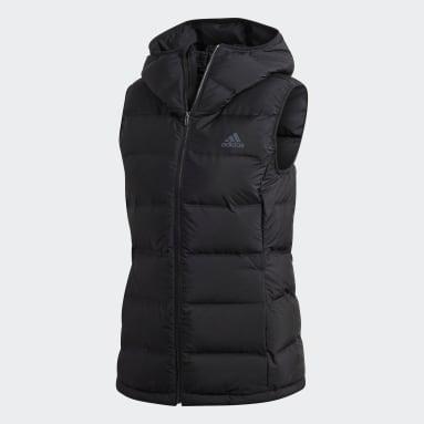 Women's Lifestyle Black Helionic Down Vest