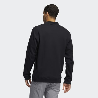 Sweat-shirt Go-To Crewneck Noir Hommes Golf