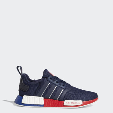Originals Blue NMD_R1 Los Angeles Shoes