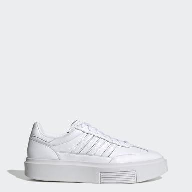 Ženy Originals bílá Obuv adidas Sleek Super 72