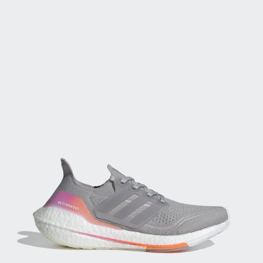 Women's Running Grey Ultraboost 21 Shoes
