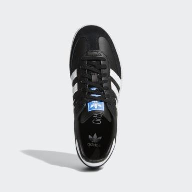 Youth Originals Black Samba OG Shoes