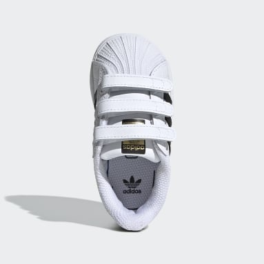 เด็ก Originals สีขาว รองเท้า Superstar