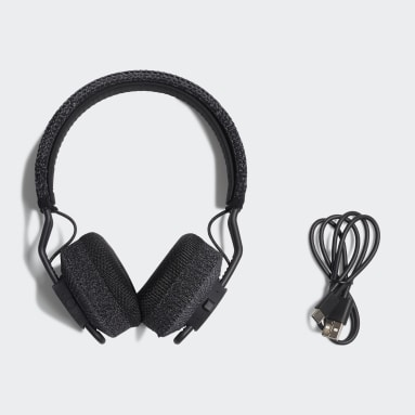 Hiking Black RPT-01 Sport On-Ear Headphones