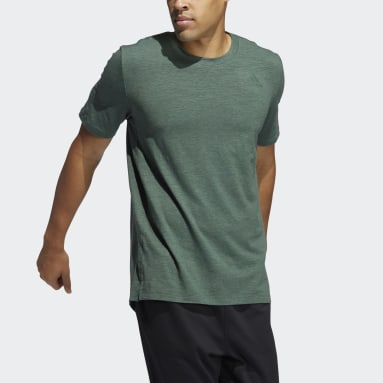 Men Training Green City Elevated Tee