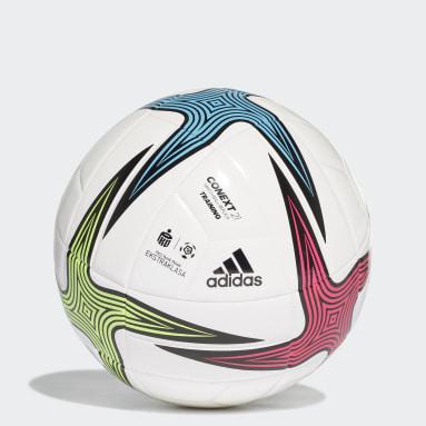 Balón de entrenamiento Ekstraklasa Blanco Fútbol
