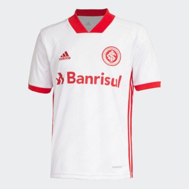 Camisa Internacional 2 Branco Meninos Futebol