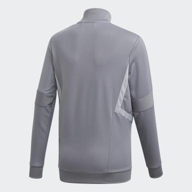 Veste d'entraînement Tiro 19 gris Adolescents Soccer