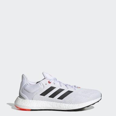 ผู้ชาย วิ่ง สีขาว รองเท้า Pureboost 21