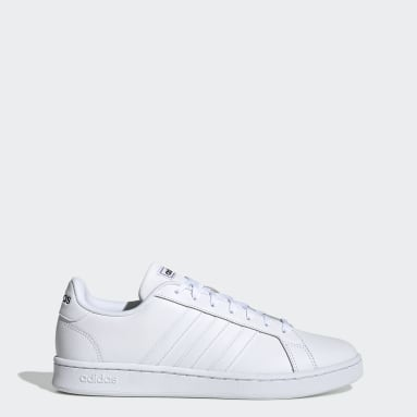 Men Tennis White Grand Court Shoes