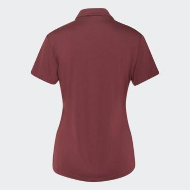 Dam Golf Röd Performance Polo Shirt