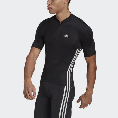 Maillot The Short Sleeve Cycling Noir Hommes Cyclisme