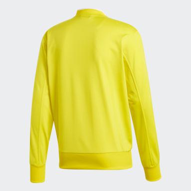 Men Football Yellow Condivo 18 Jacket