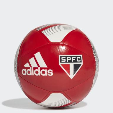 Bola São Paulo FC Vermelho Homem Futebol