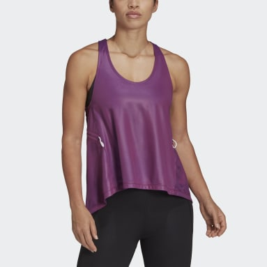 Camiseta de tirantes Primeblue Rosa Mujer Gimnasio Y Entrenamiento