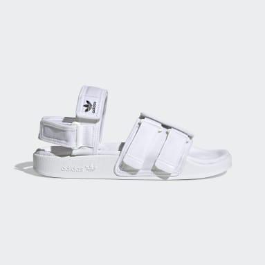Originals New adilette Sandale Weiß