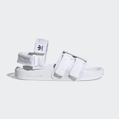 Originals White New Adilette Sandals