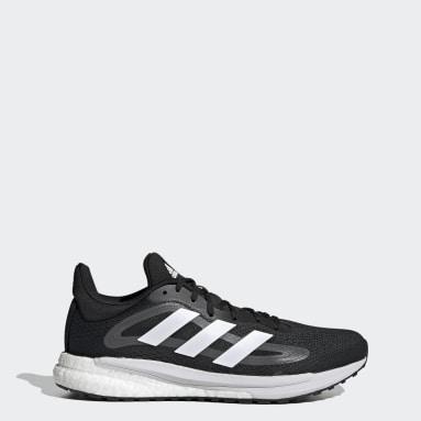 Men Running Black SolarGlide 4 Shoes