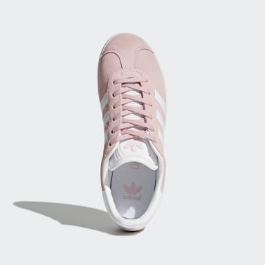 Girls Originals Pink Gazelle Shoes