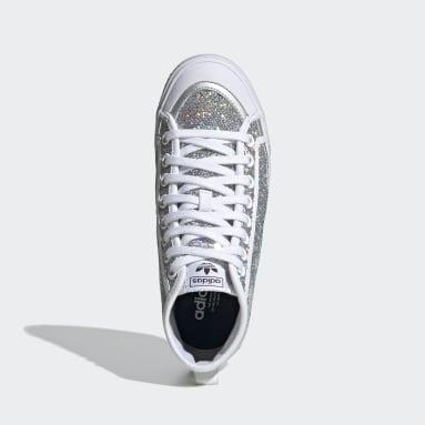 Kadın Originals Gümüş Nizza High Ayakkabı