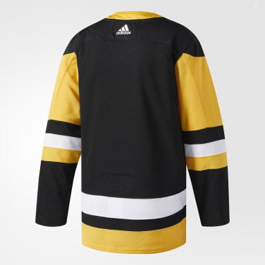 Maillot Penguins Domicile Authentique Pro noir Hockey