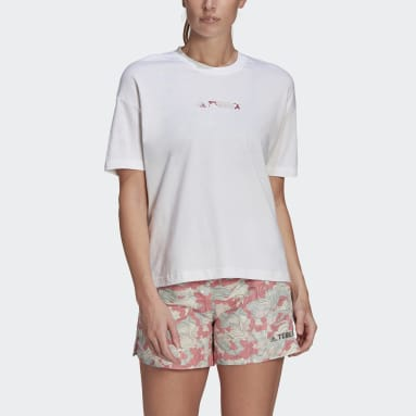 Women TERREX White Festival Graphic Tee