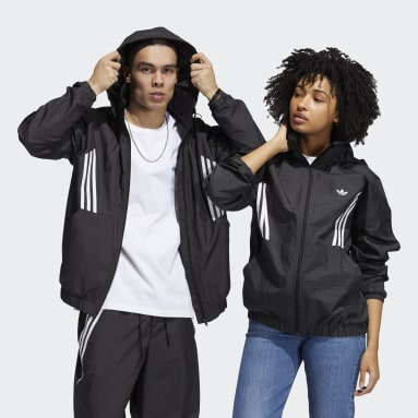 Originals Black Primeblue Workshop Windbreaker (Gender Neutral)
