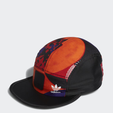 Originals Siyah Beş Panelli Şapka