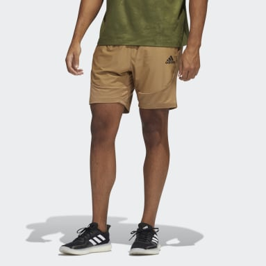 Men's Training Brown H.RDY SHORTS