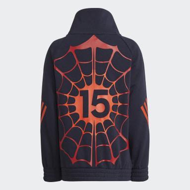 Kids 4-8 Years Gym & Training Blue Marvel Spider-Man Sweatshirt