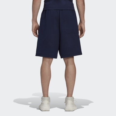 Men Y-3 Blue Y-3 CL Shorts