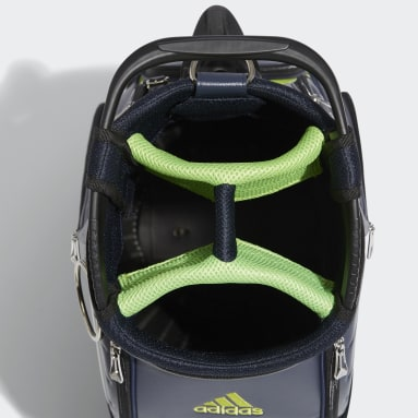 Men Golf Blue 3-Bars Caddie Bag
