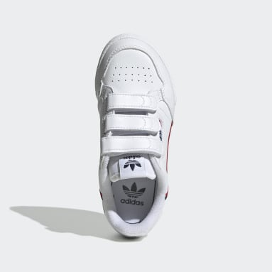 Kids Originals White Continental 80 Shoes