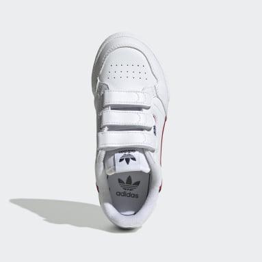 Scarpe Continental 80 Bianco Bambini Originals
