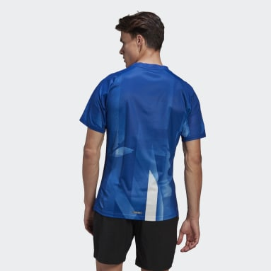 T-shirt Heat.Rdy Tennis Freelift Greece Bleu Hommes Tennis