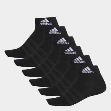 Calcetines Tobilleros 6 Pares Negro Training
