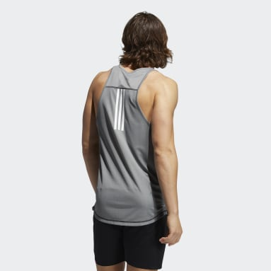 Men Gym & Training Black For the Oceans Primeblue Tank Top
