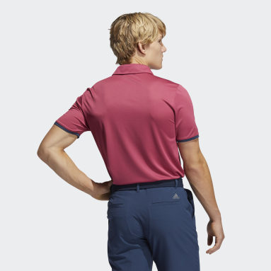 Men Golf Pink Core Polo Shirt