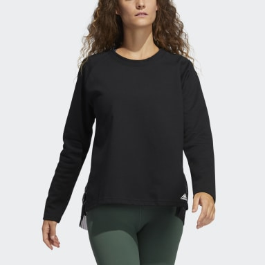 Dames Fitness En Training Zwart Dance Layering Pullover