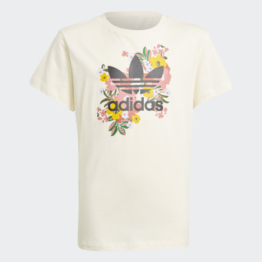 HER Studio London Floral T-skjorte Hvit