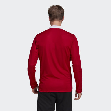 Men's Lifestyle Red Tiro 21 Track Jacket