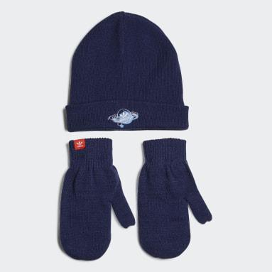 Kinderen Originals Blauw Trefoil Universe Winter Set