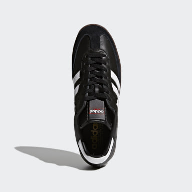 Futsal Sort Samba Leather sko